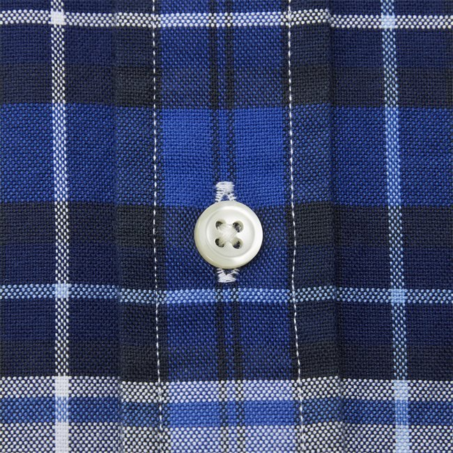Checked Button-Down Shirt