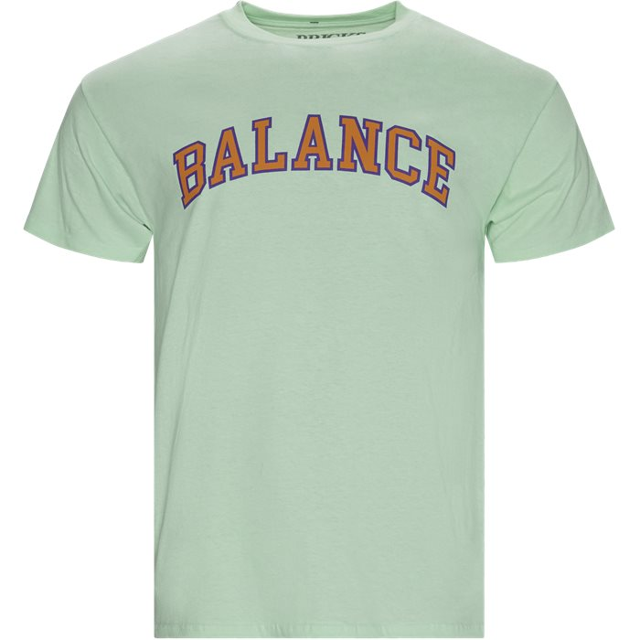 Balance Tee - T-shirts - Regular - Turkis