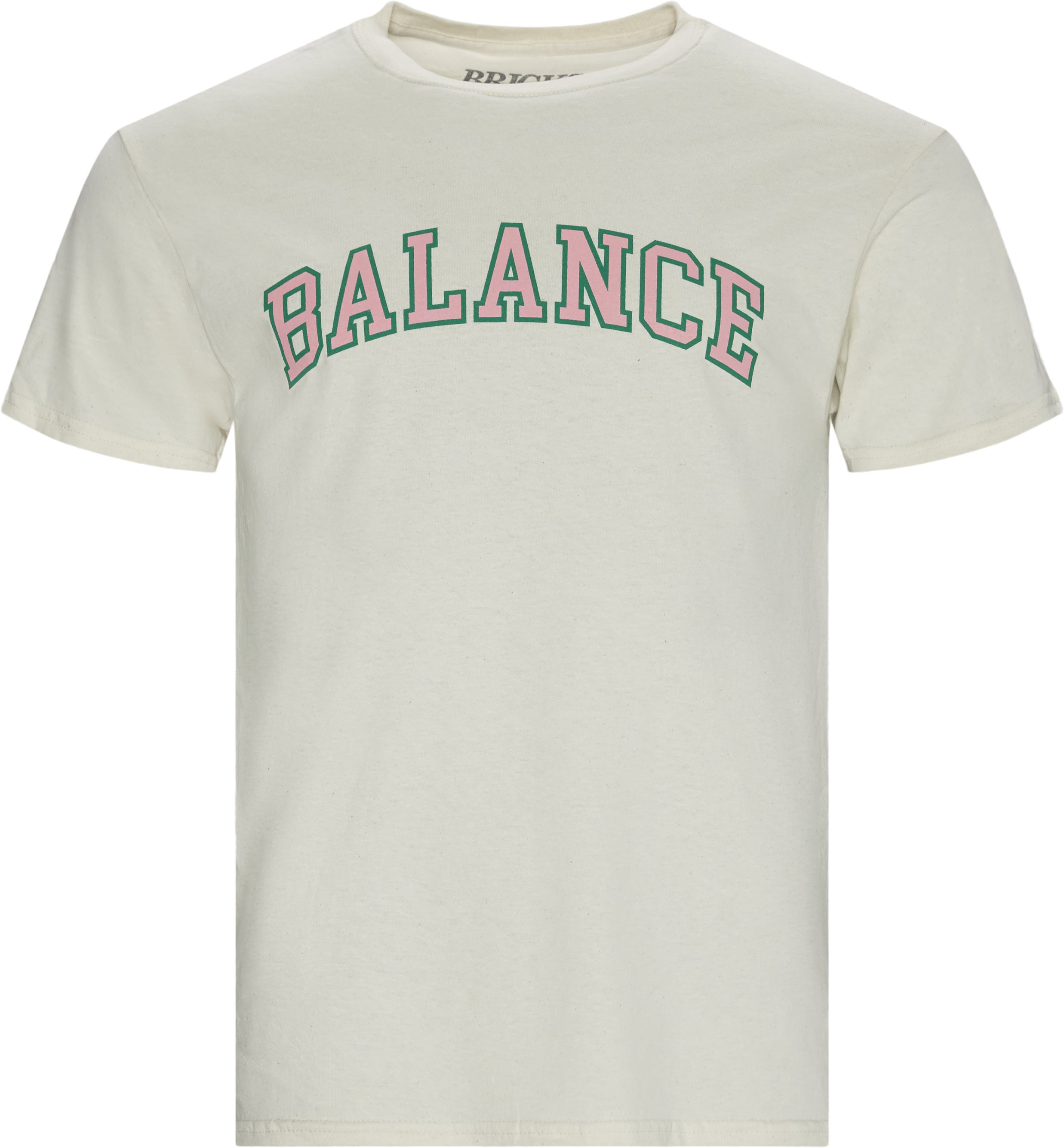 Balance Tee - T-shirts - Regular - Sand