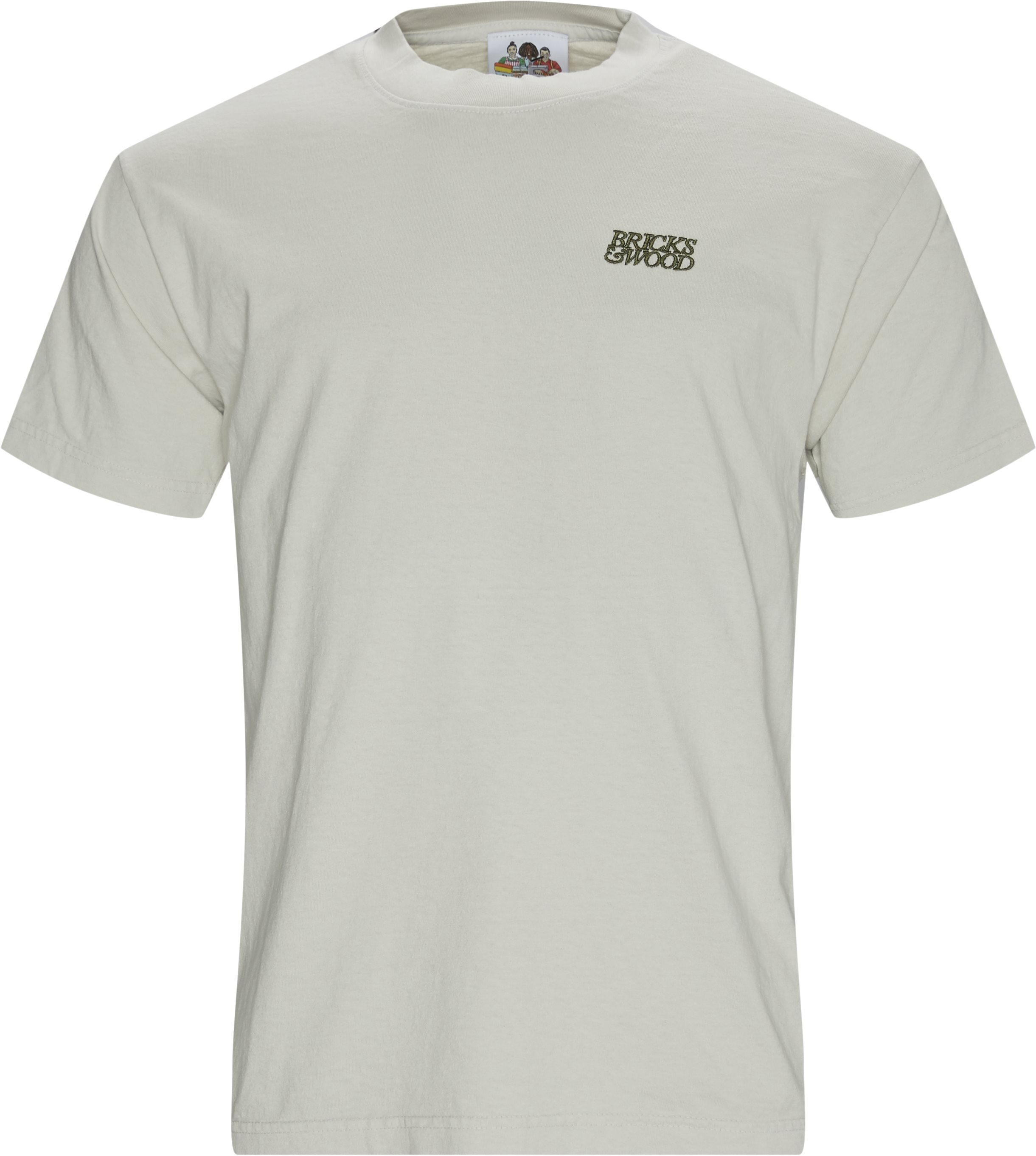 Logo Tee - T-shirts - Regular - Army