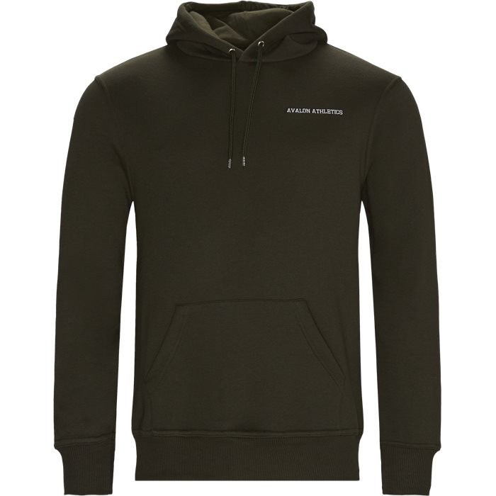 Whitmann Hoodie - Sweatshirts - Regular - Army