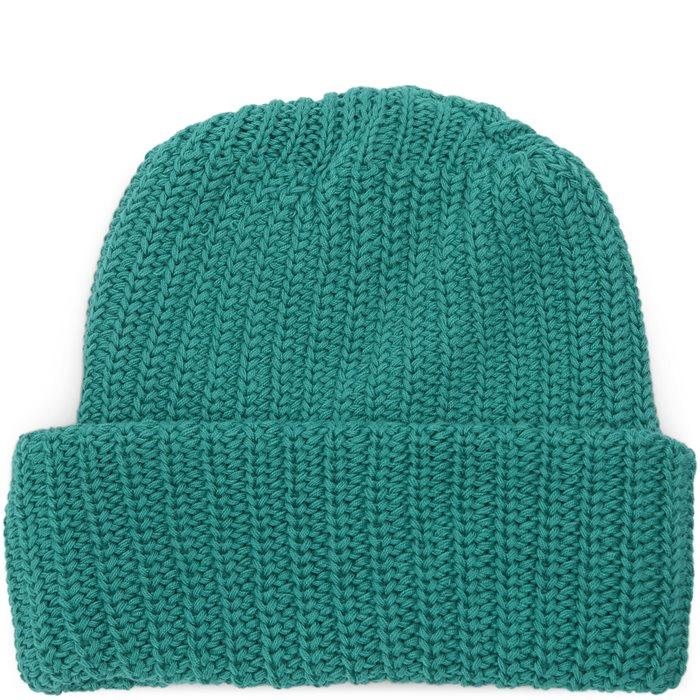 Knit Beanie - Huer - Grøn