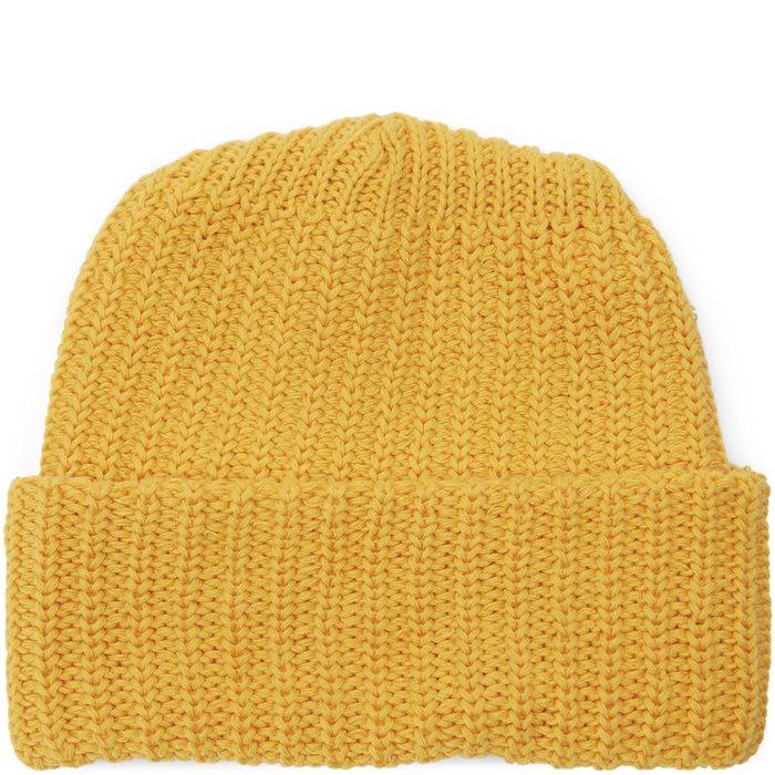 Knit Beanie - Huer - Gul