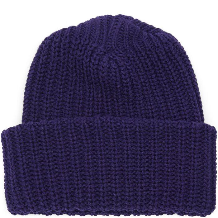 Knit Beanie - Huer - Lilla