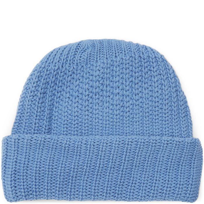 Knit Beanie - Huer - Blå