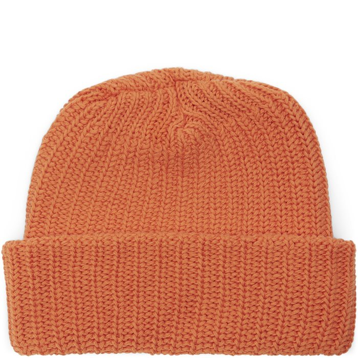Knit Beanie - Huer - Orange