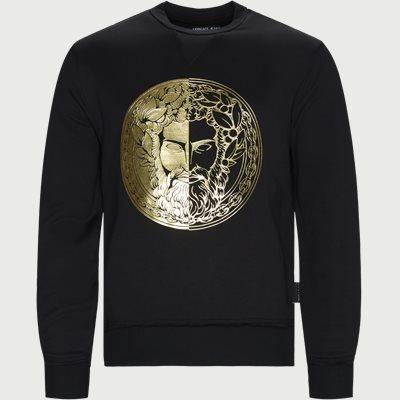Slim | Sweatshirts | Schwarz