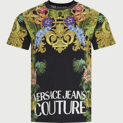 Jersey K T-shirt Slim | Jersey K T-shirt | Sort