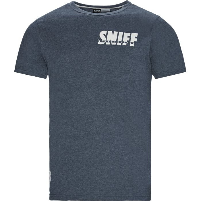 Smokey Tee - T-shirts - Regular - Denim