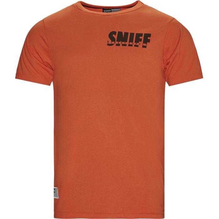 Smokey Tee - T-shirts - Regular - Orange