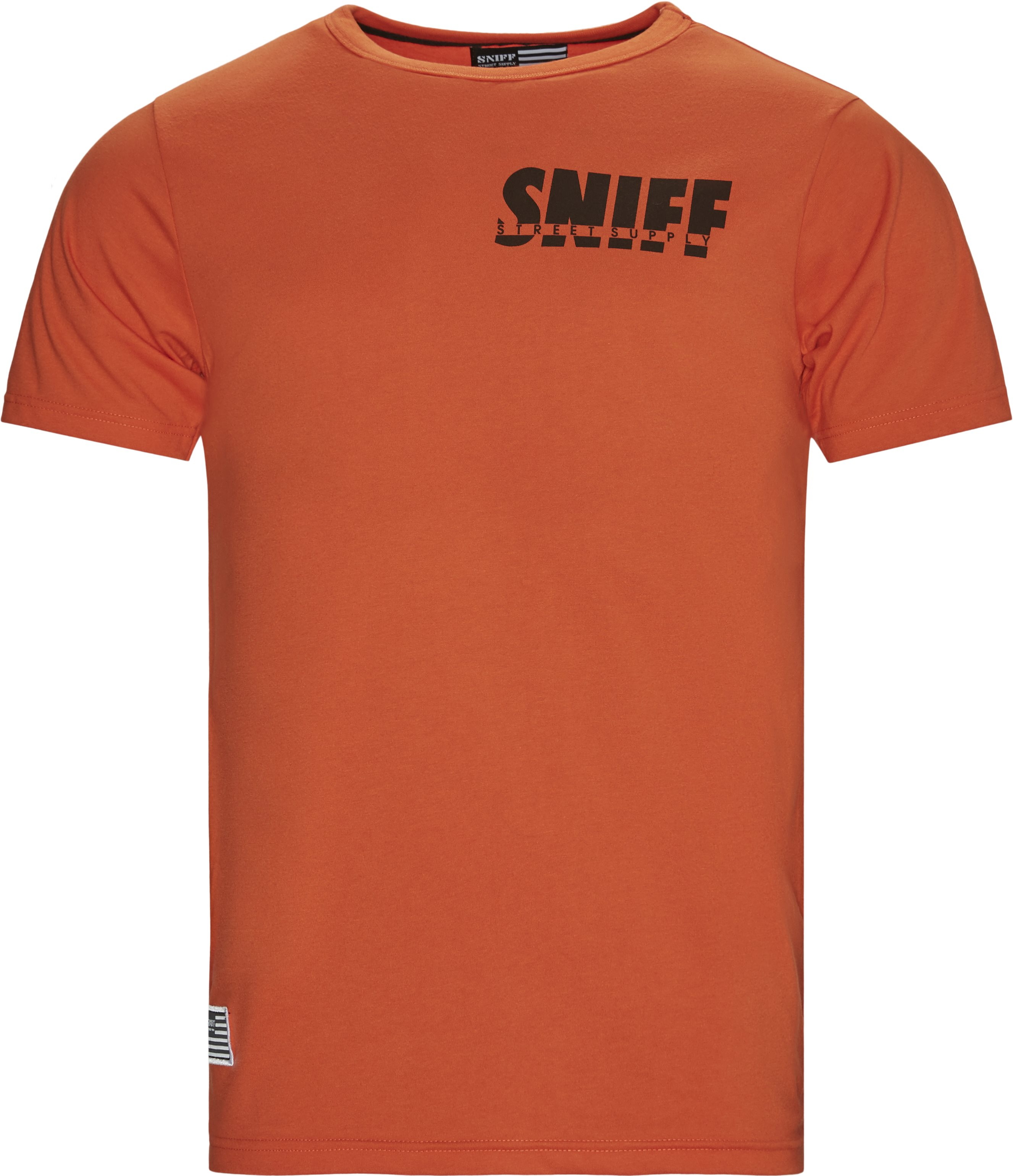 Smokey Tee - T-shirts - Regular - Orange