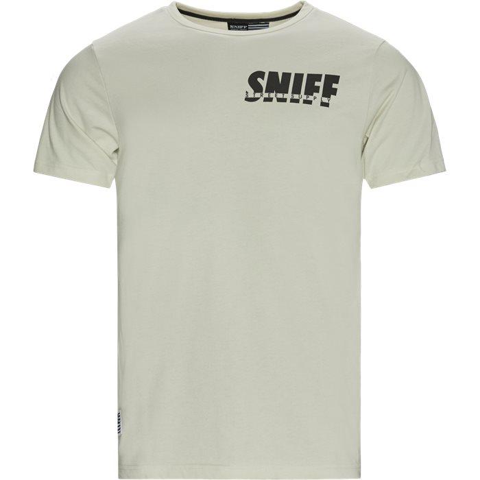 Smokey Tee - T-shirts - Regular - Sand