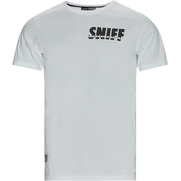 Smokey Tee - T-shirts - Regular - Hvid