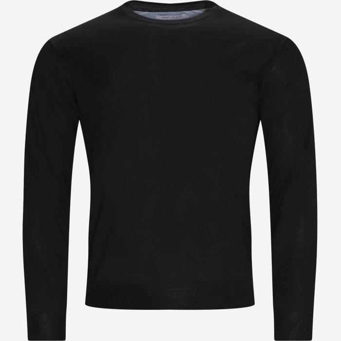 Lipan Striktrøje - Stickat - Regular - Svart