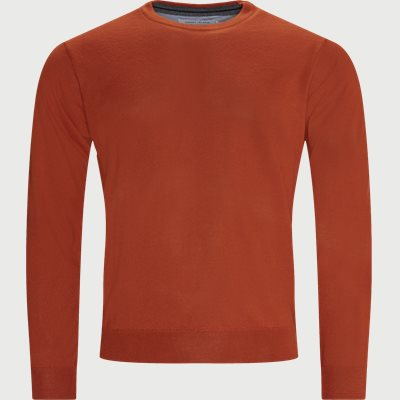 Lipan Merino Striktrøje Regular | Lipan Merino Striktrøje | Orange