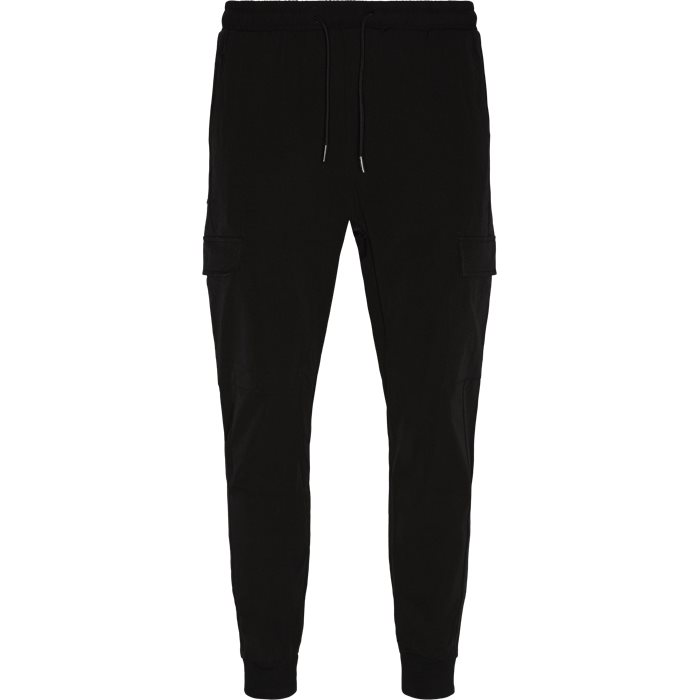 Oliver Pant - Bukser - Tapered fit - Sort