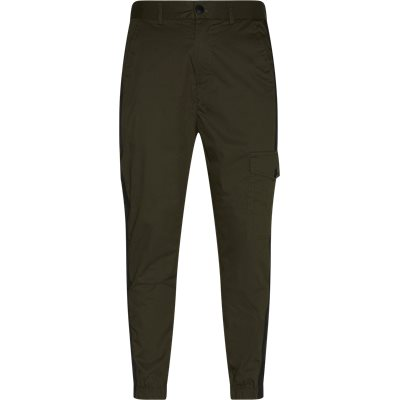 Tapered fit | Trousers | Army