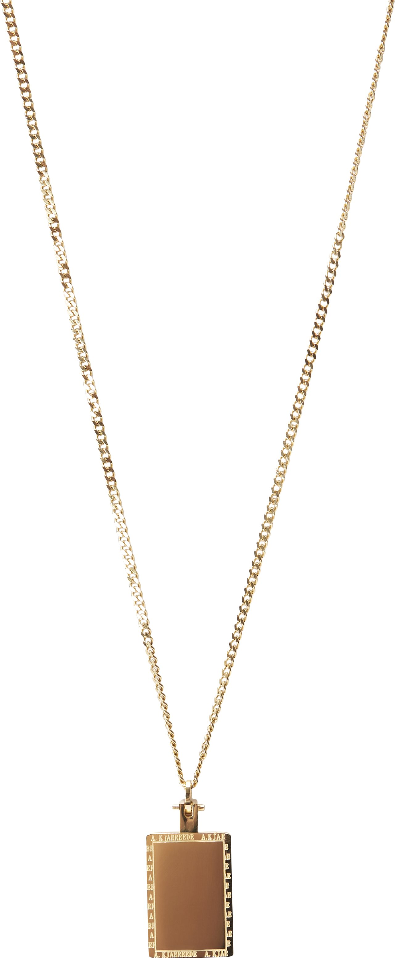 Joe Necklace - Accessories - Guld