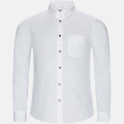 Regular fit | Skjorter | Hvid