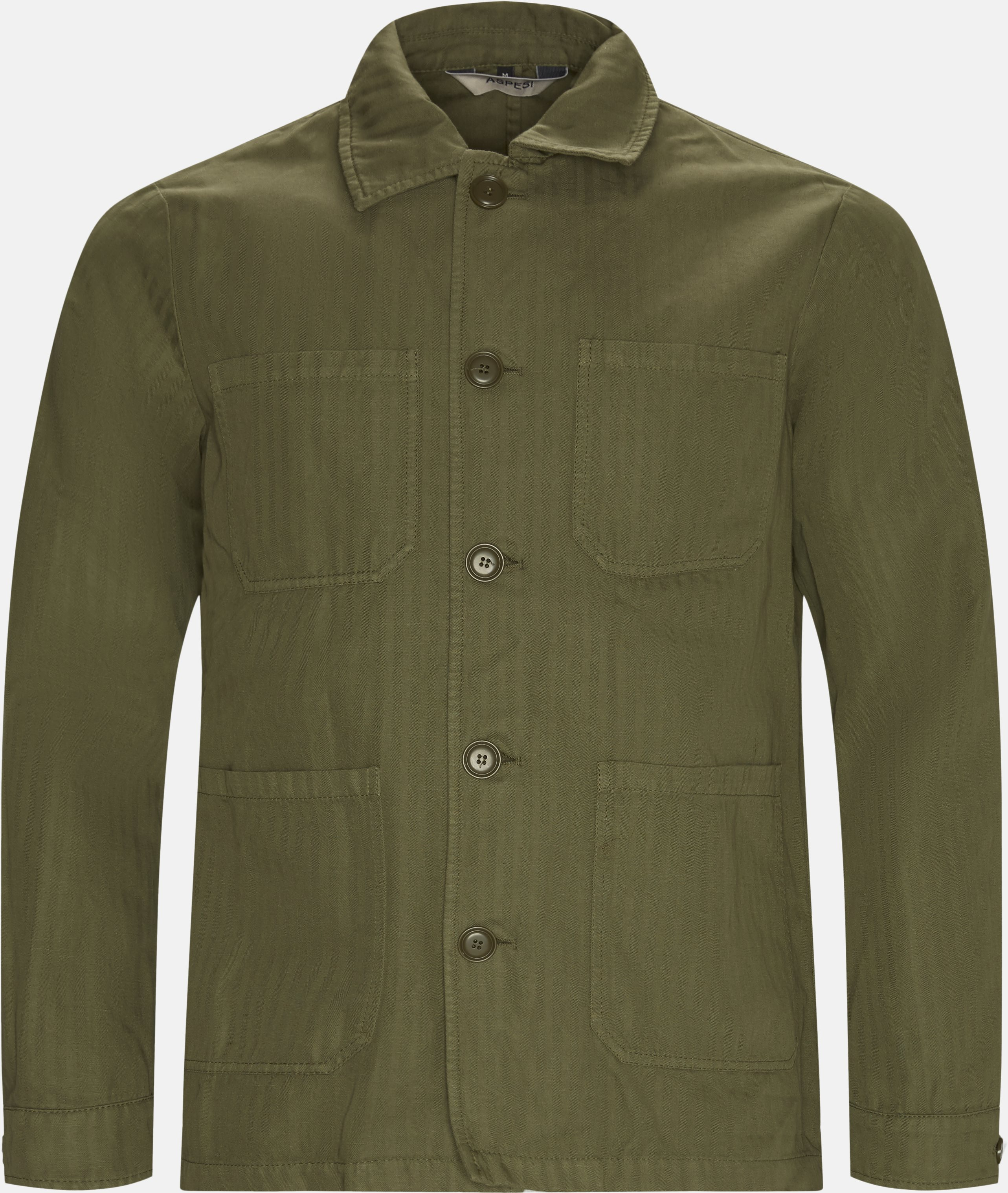 Overshirts - Regular fit - Army