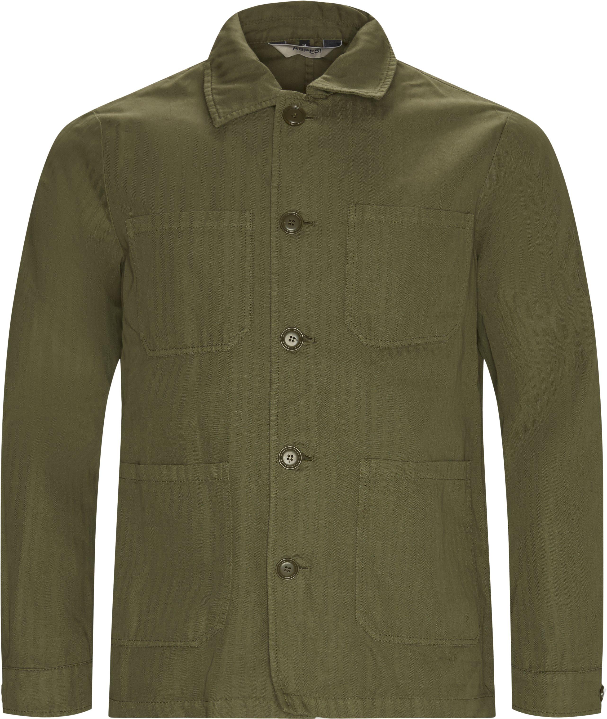 Overshirts - Regular fit - Army