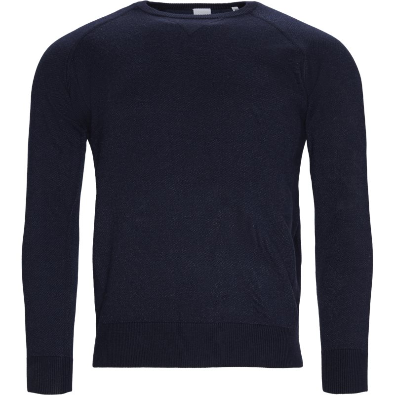 Image of   ASPESI Regular fit M292 4976 Strik Navy