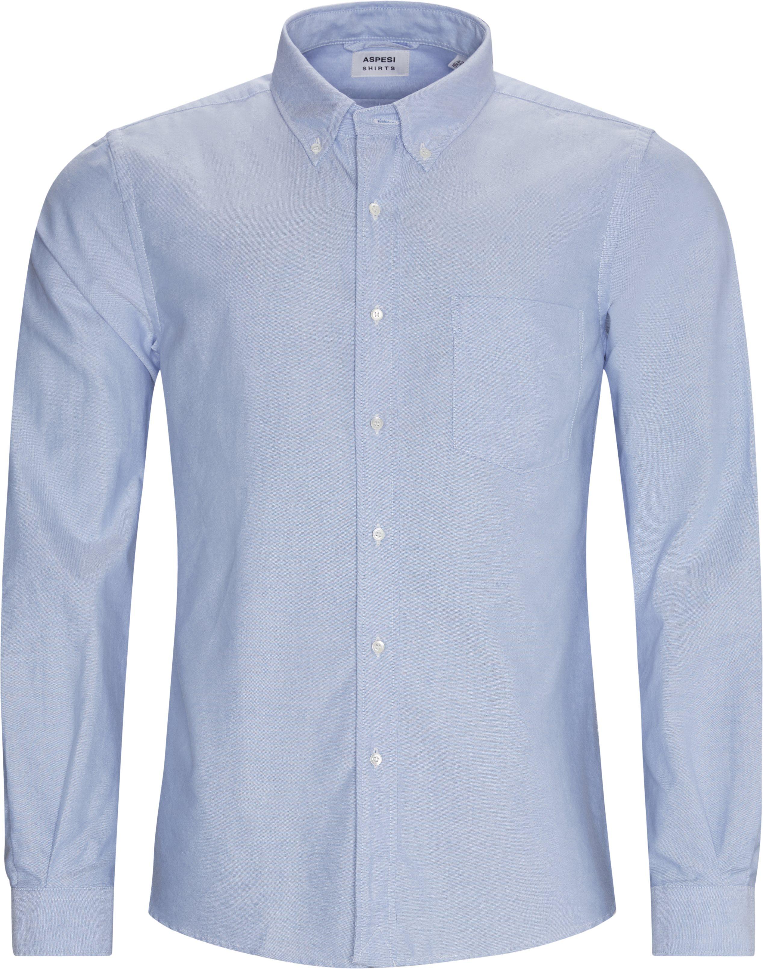 Oxford Skjorte - Skjorter - Regular fit - Blå