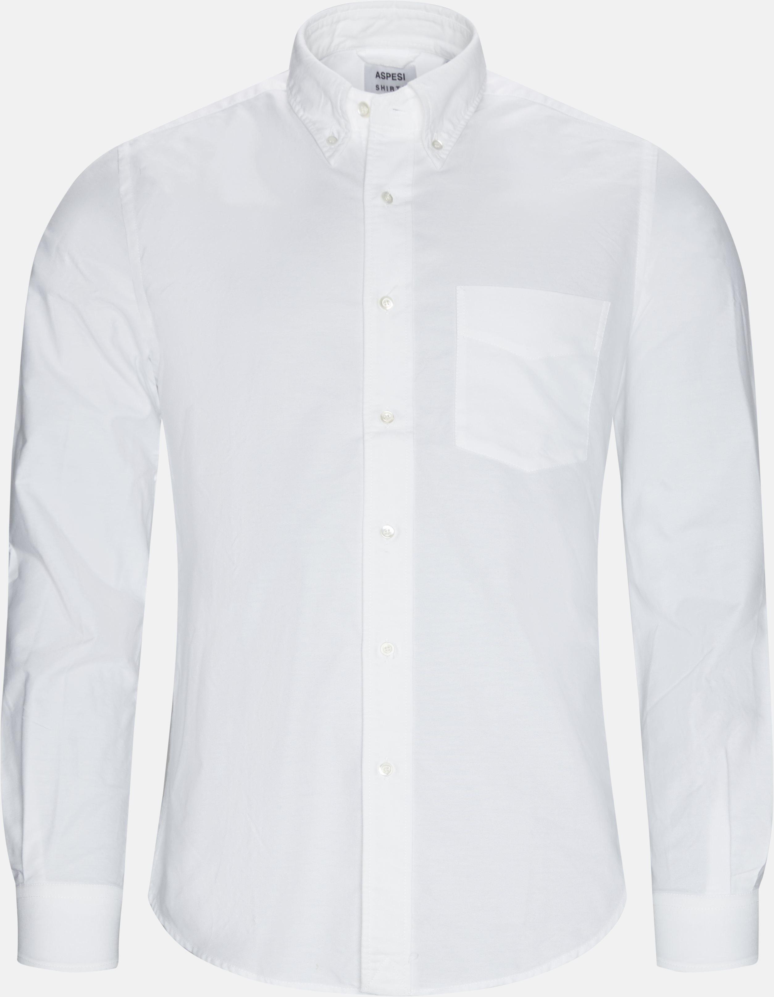 Oxford Skjorte - Skjorter - Regular fit - Hvid