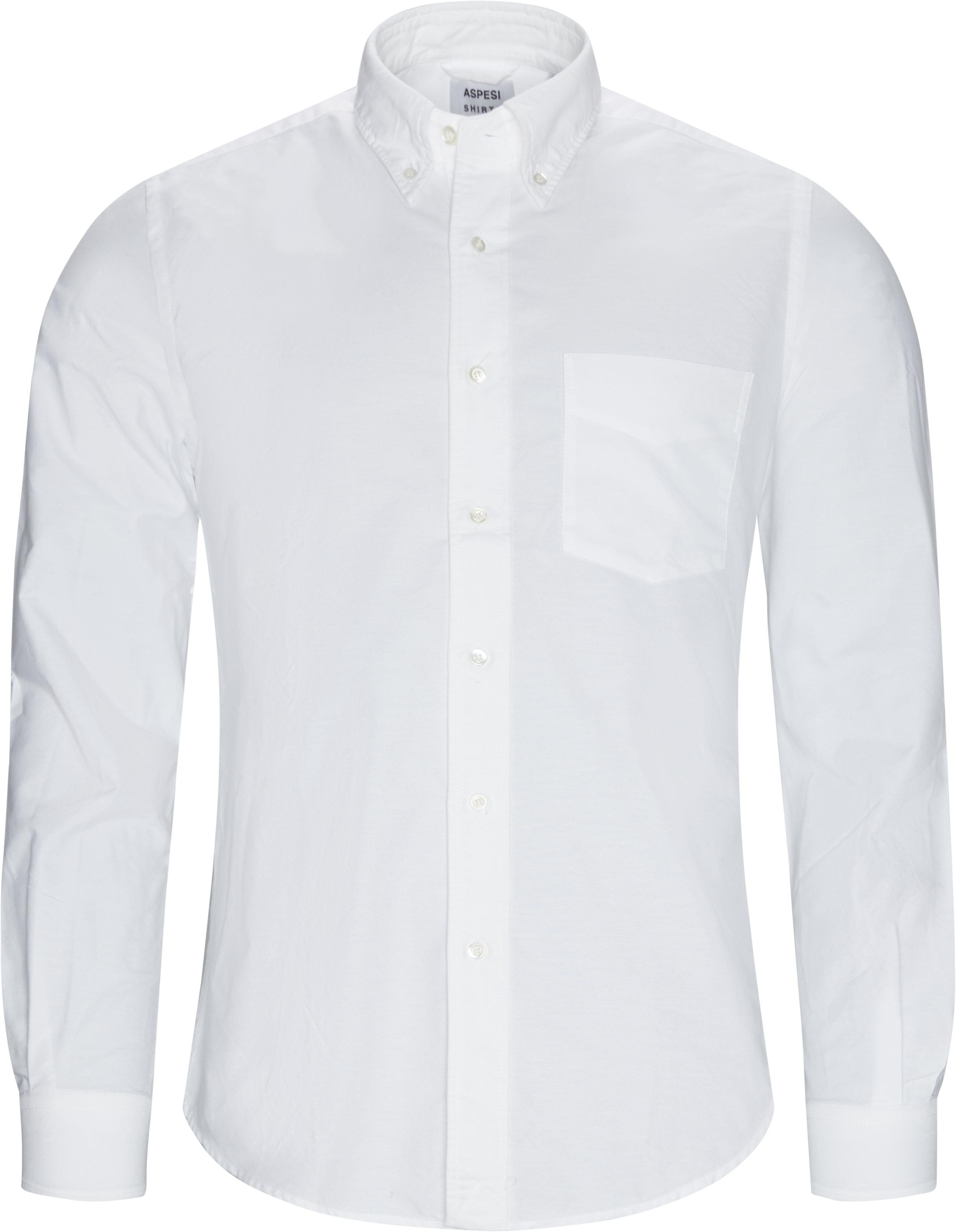 Shirts - Regular fit - White