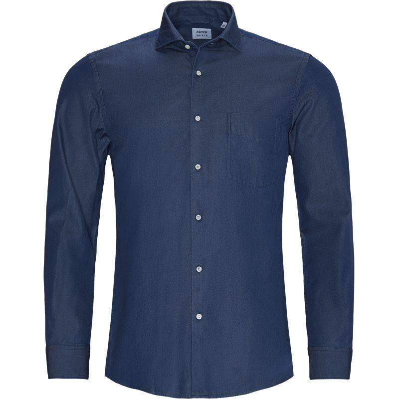 Image of ASPESI Regular fit CE52 6191 Skjorter Denim