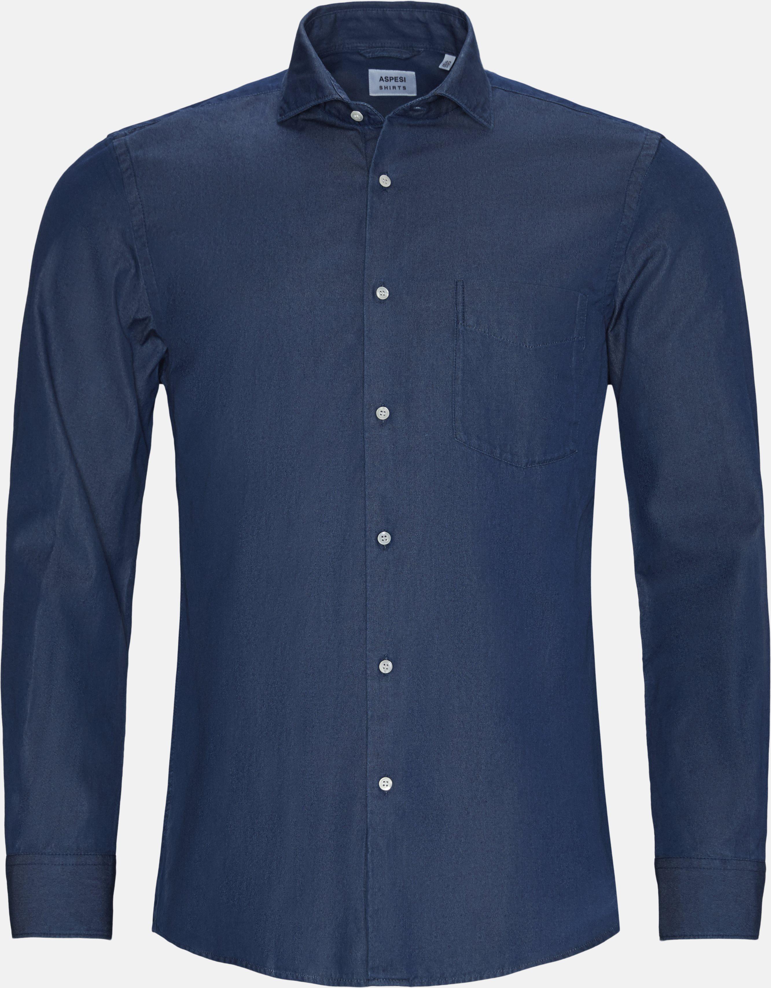 Skjorter - Regular fit - Denim