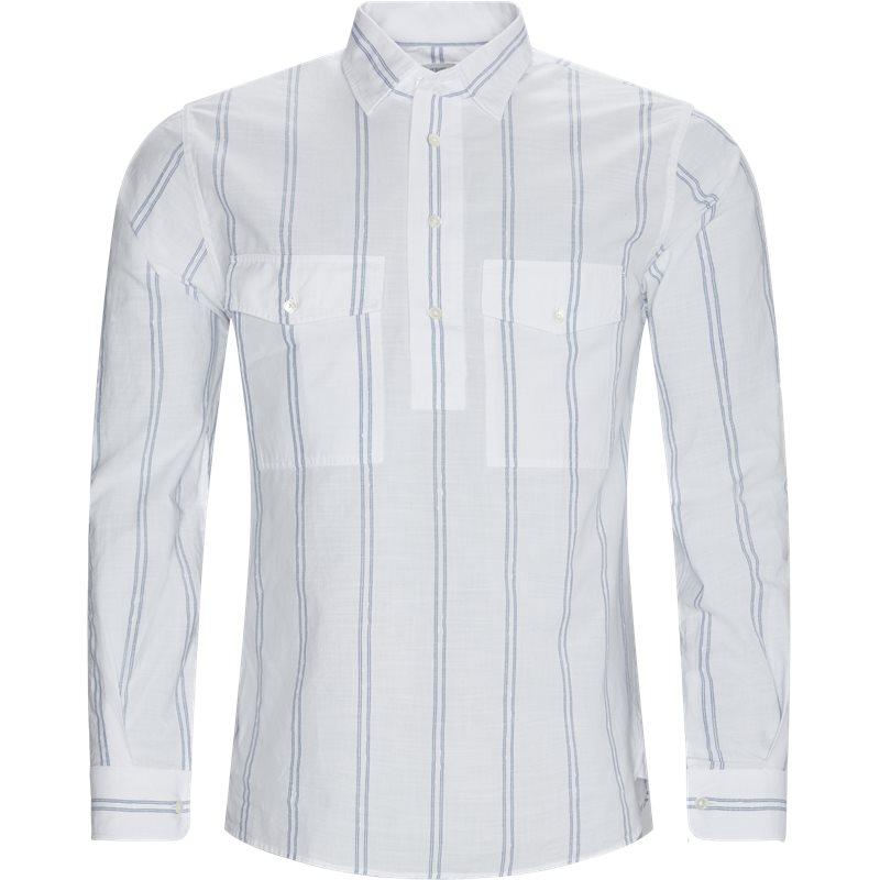 Image of CLOSED Regular fit C84215-226-20 Skjorter White/blue