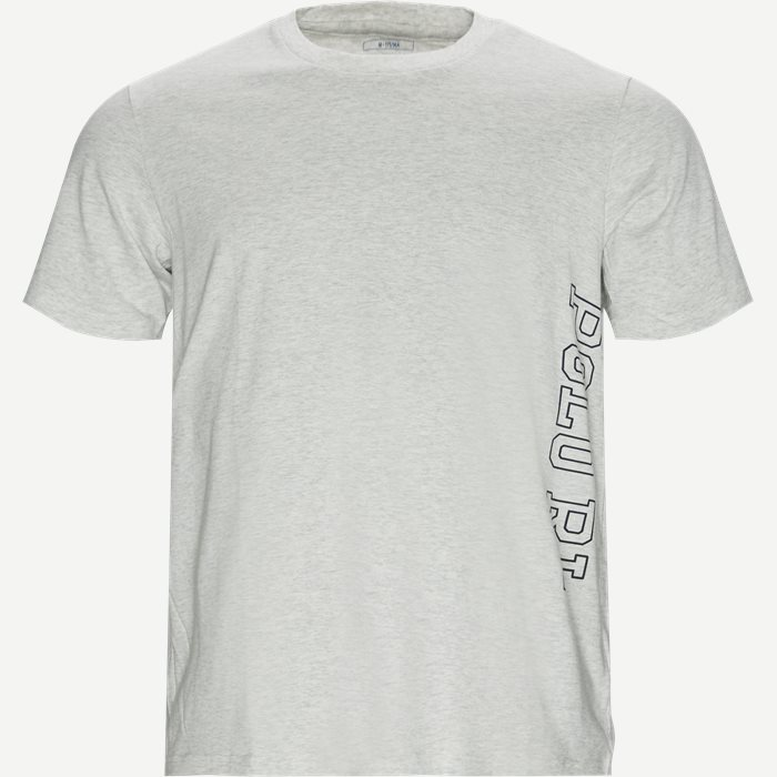 Logo T-shirt - T-shirts - Regular - Grå