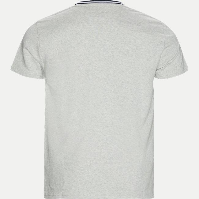Neck Stripe T-shirt