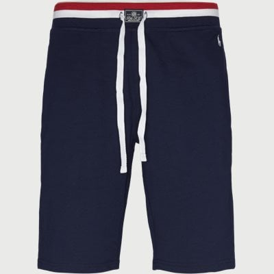 Cotton Fleece Shorts Regular | Cotton Fleece Shorts | Blå