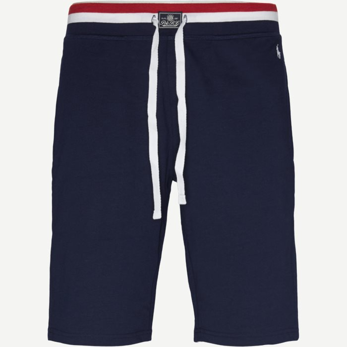 Cotton Fleece Shorts - Shorts - Regular - Blå