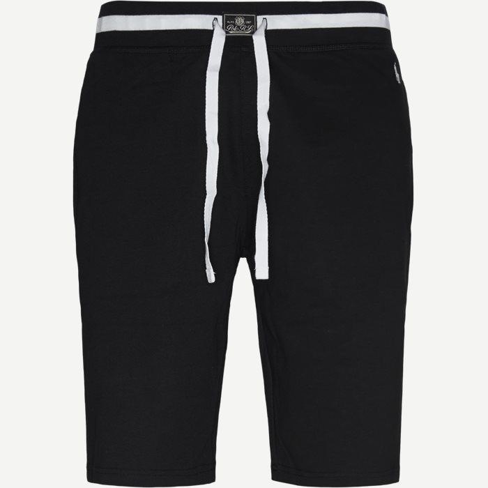 Cotton Fleece Shorts - Shorts - Regular - Sort