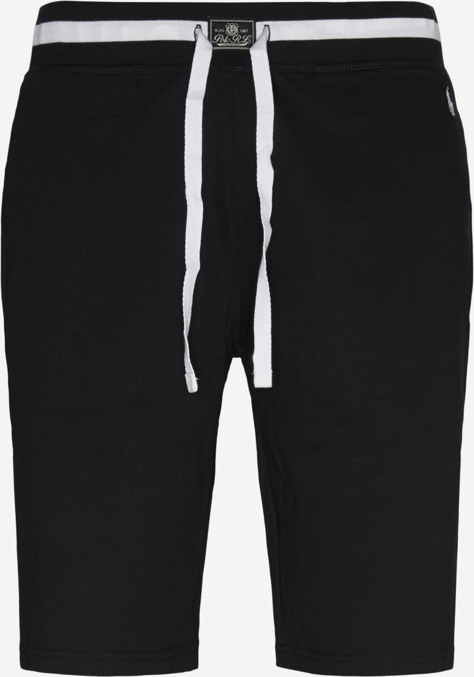 Cotton Fleece Shorts - Shorts - Regular fit - Sort