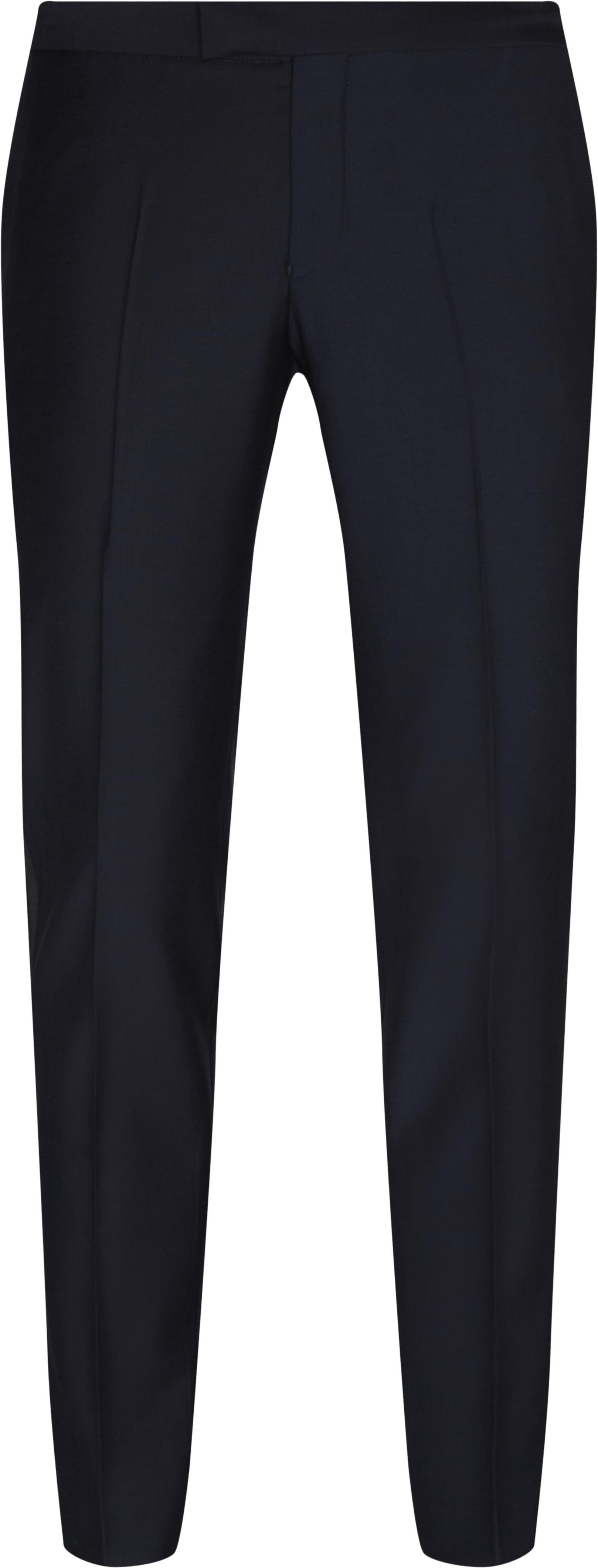 Trousers - Slim fit - Blue