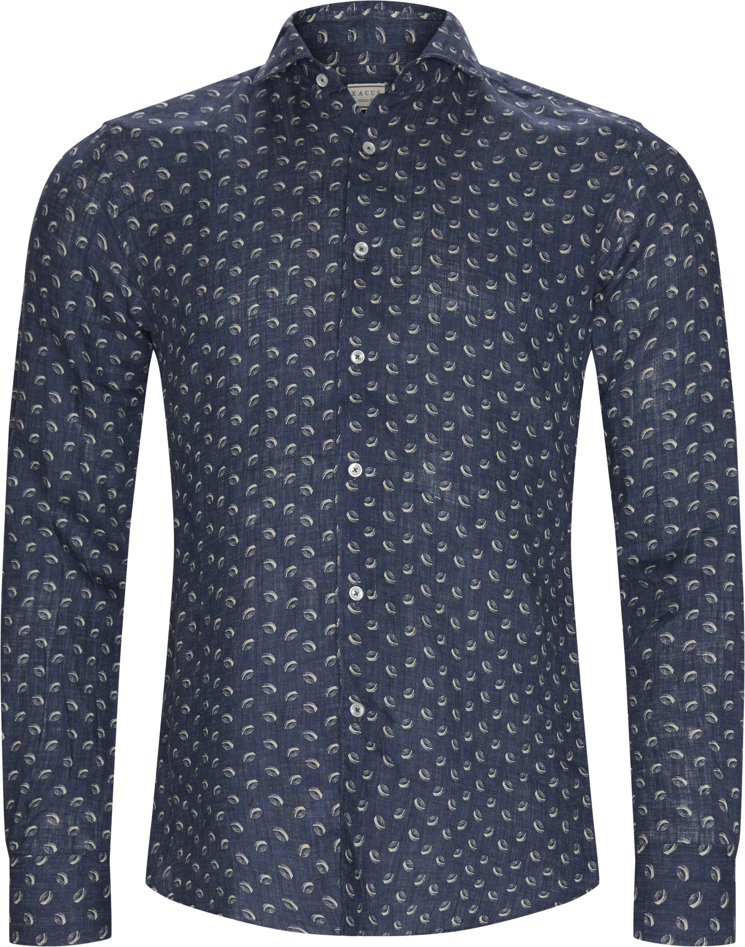 Skjorter - Tailored fit - Blå