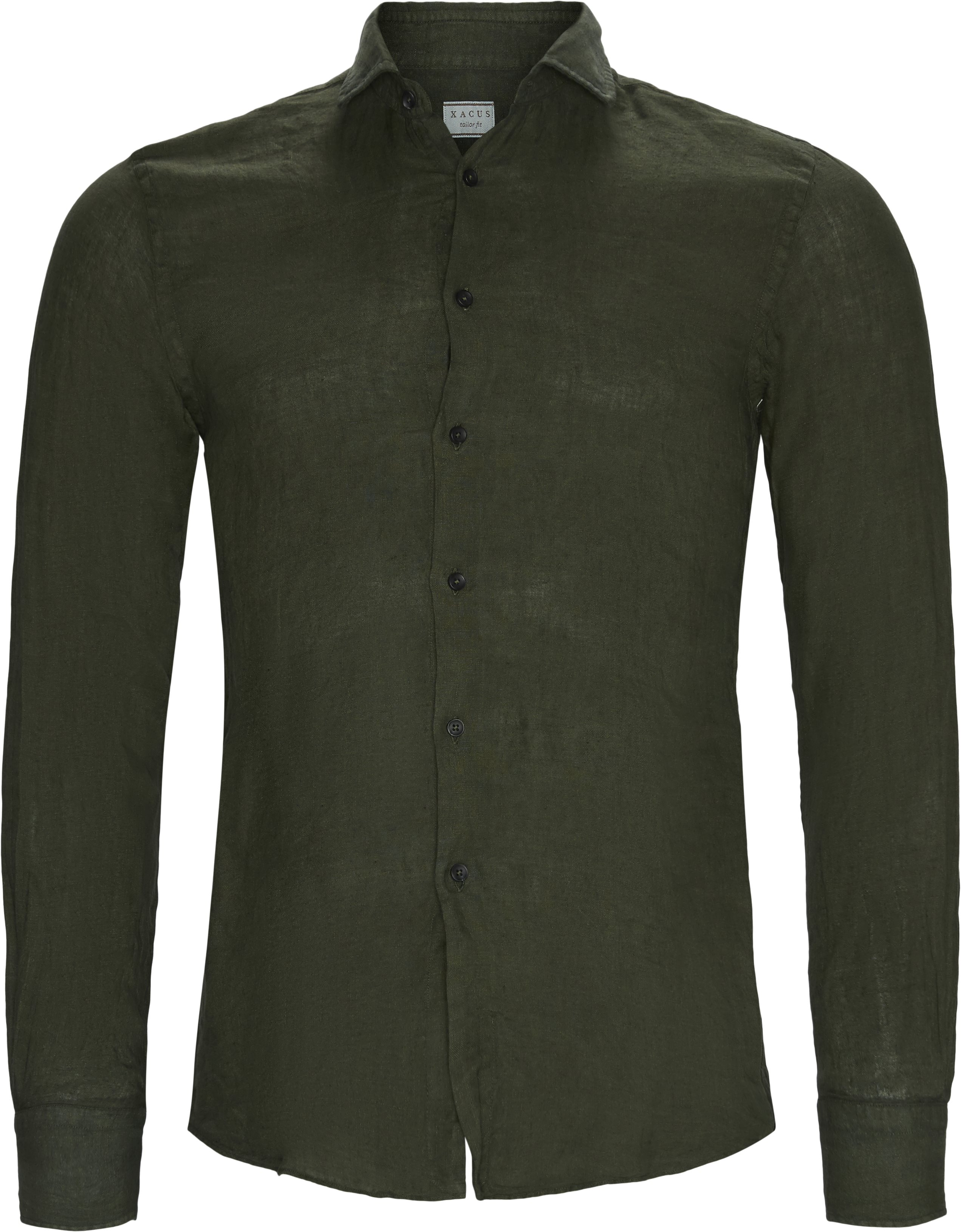 Shirts - Tailored fit - Army