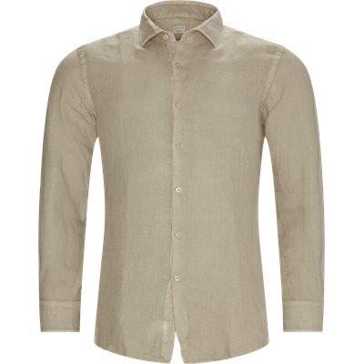Tailored fit | Skjorter | Sand