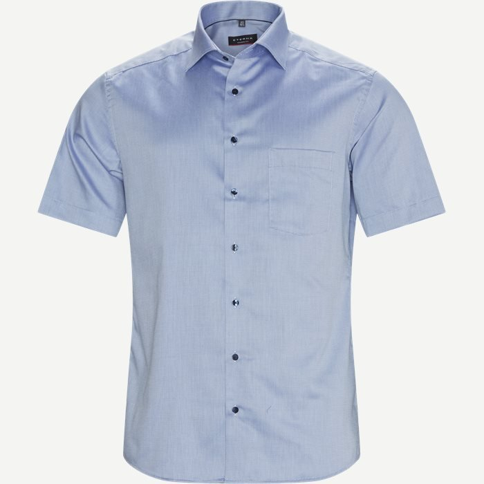 3680 C19K Kortærmet Skjorte - Kortærmede skjorter - Modern fit - Blå