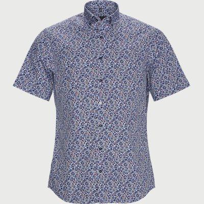 3915 C17K Kortærmet Skjorte Modern fit | 3915 C17K Kortærmet Skjorte | Blå