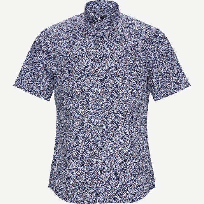 3915 C17K Kortærmet Skjorte - Kortærmede skjorter - Modern fit - Blå