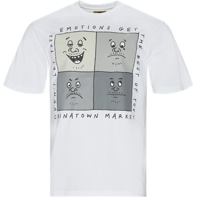 Emotions Tee Regular | Emotions Tee | Hvid