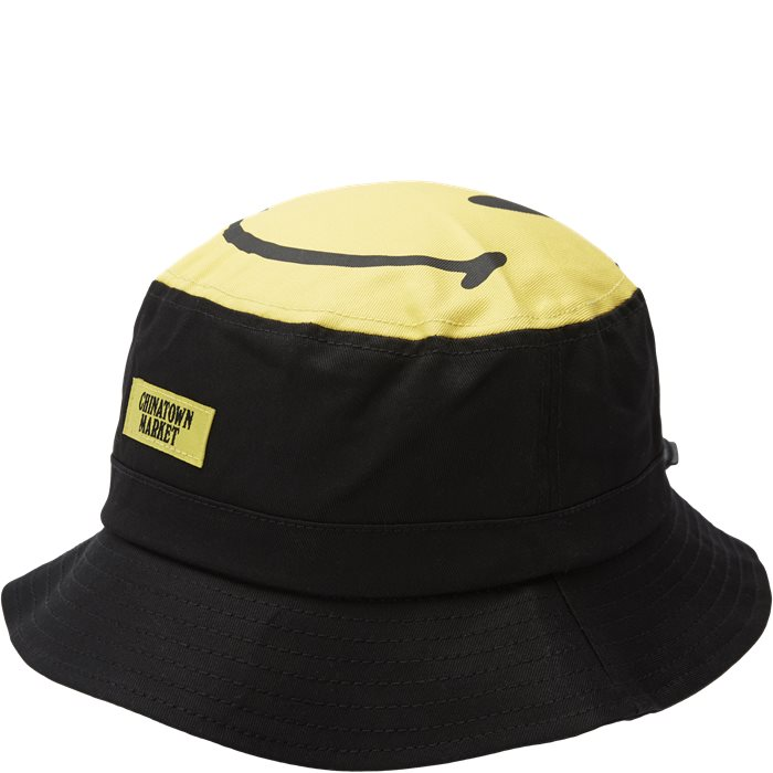Smiley Bucket Hat - Caps - Sort
