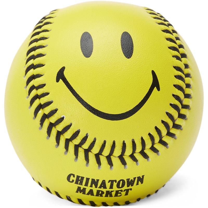 Billede af Chinatown Market Smiley Baseball Gul