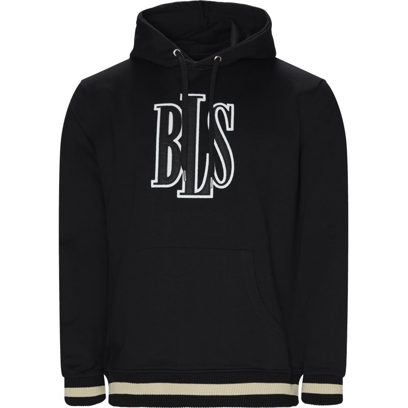 Image of   BLS Regular fit CENTER LOGO HOODIE Sweatshirts Sort