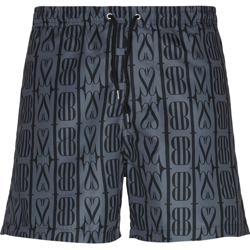 Image of   BLS Regular fit ALL OVER PRINT SWIM Shorts Grå